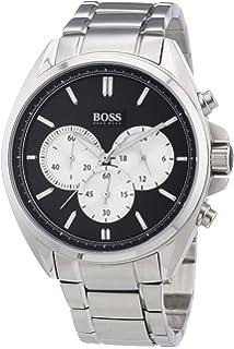 8038b01fe Hugo Boss 1513590 Talent Men's Watch Black 42mm Ceramic: Amazon.co ...