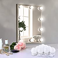 Arioj Hollywood-Style LED Vanity Lights Makeup Fill Light Adjustable Light with Touch Dimmer