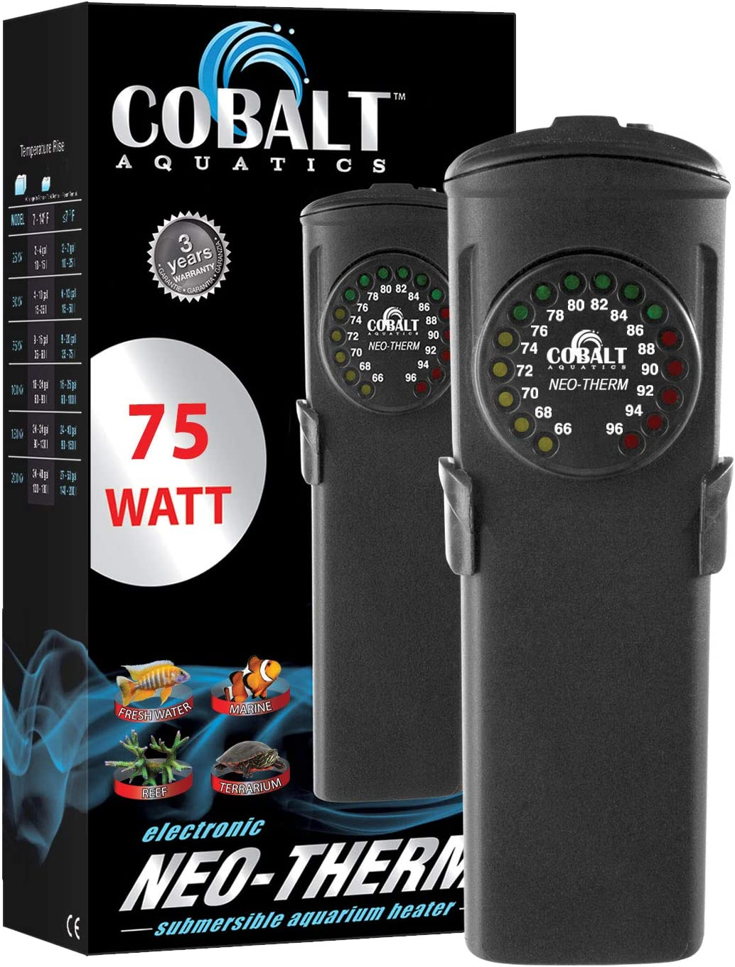 Cobalt Aquatics Neo-Therm Aquarium Heater