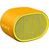 Sony SRS-XB01 Speaker Compatto, Portatile e Resistente all'Acqua con Extra Bass, Giallo