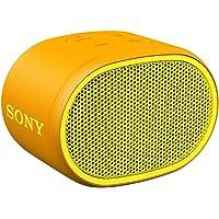 Sony SRS-XB01 Speaker Compatto, Portatile e Resistente all'Acqua con Extra Bass, Giallo