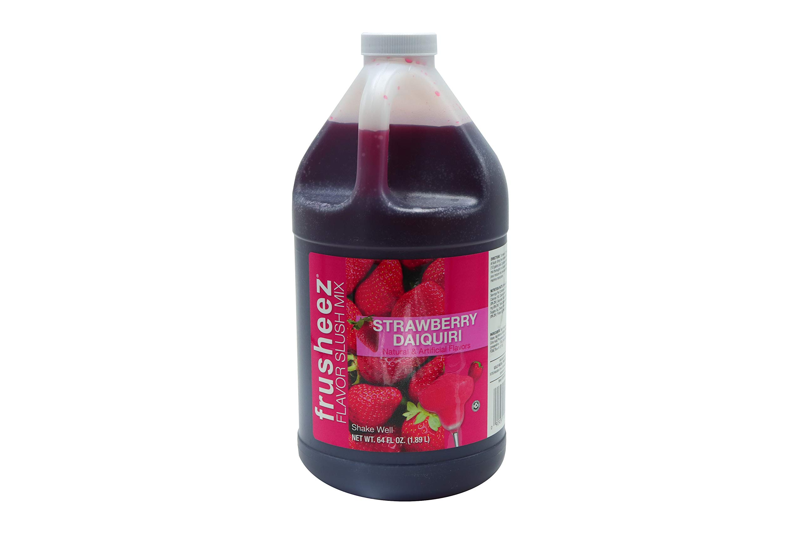 Beach City Wholesalers Frusheez Mix ? Strawberry Daiquiri 1/2 gal (6 count)