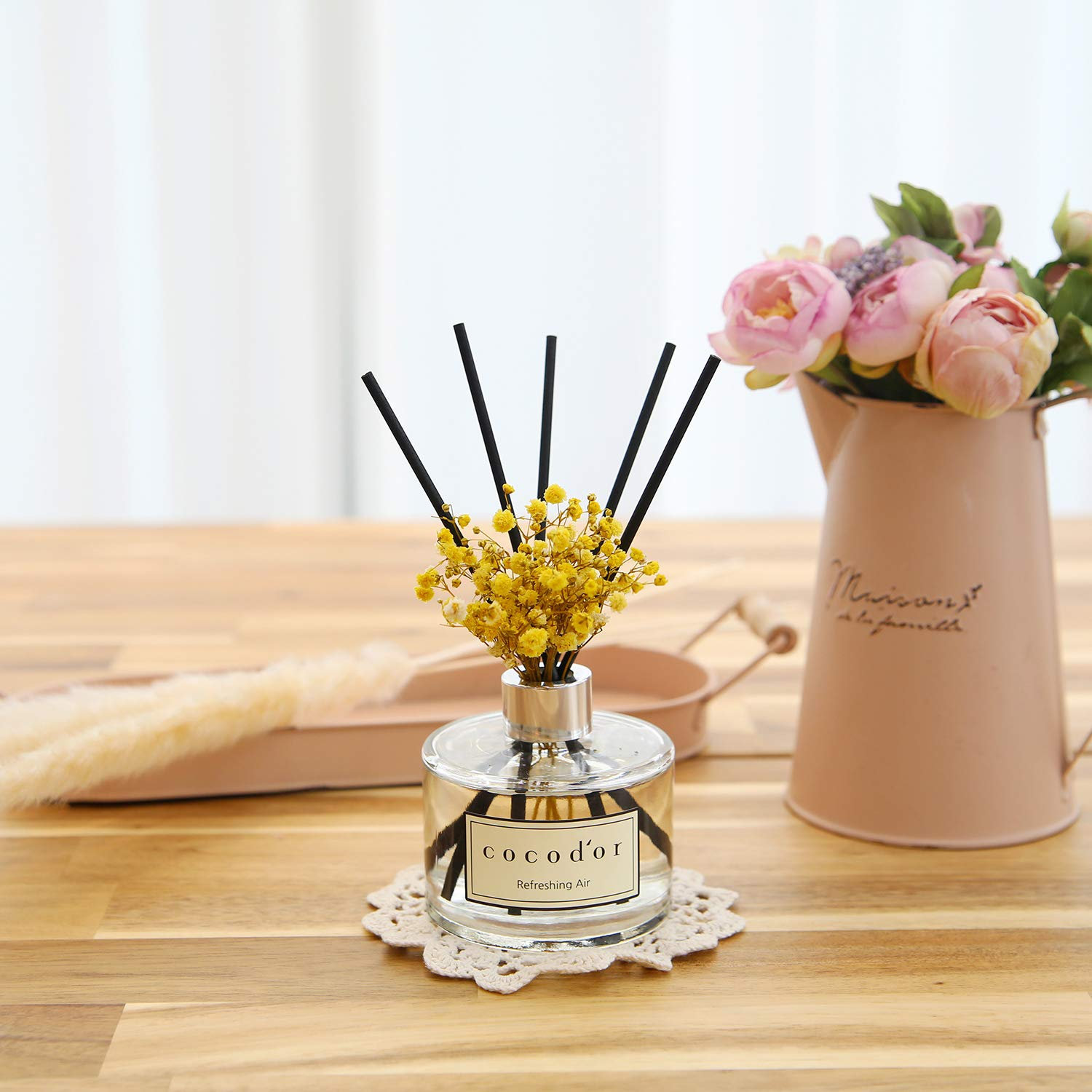 Cocod'or Flower Diffuser/6.7oz/Black Cherry/2 Pack by Cocod'or (Image #7)