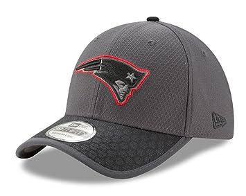 9404b0cc New England Patriots New Era NFL 39THIRTY 2017 Sideline Graphite ...
