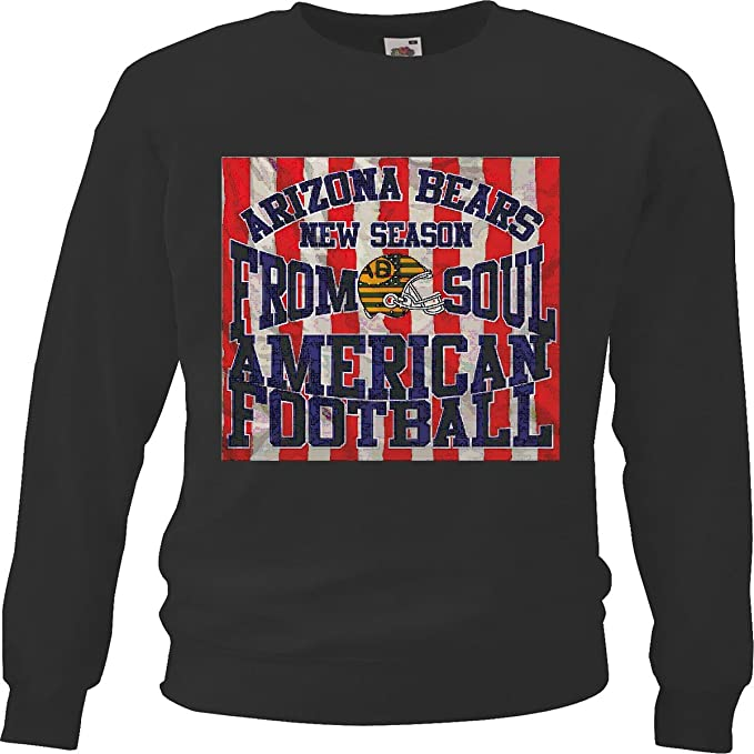 Sudaderas Suéter Arizona Osos Que estación Americana FÚTBOL FÚTBOL FÚTBOL Americano Equipo de la Bundesliga de fútbol del Colegio Equipo de béisbol de la ...