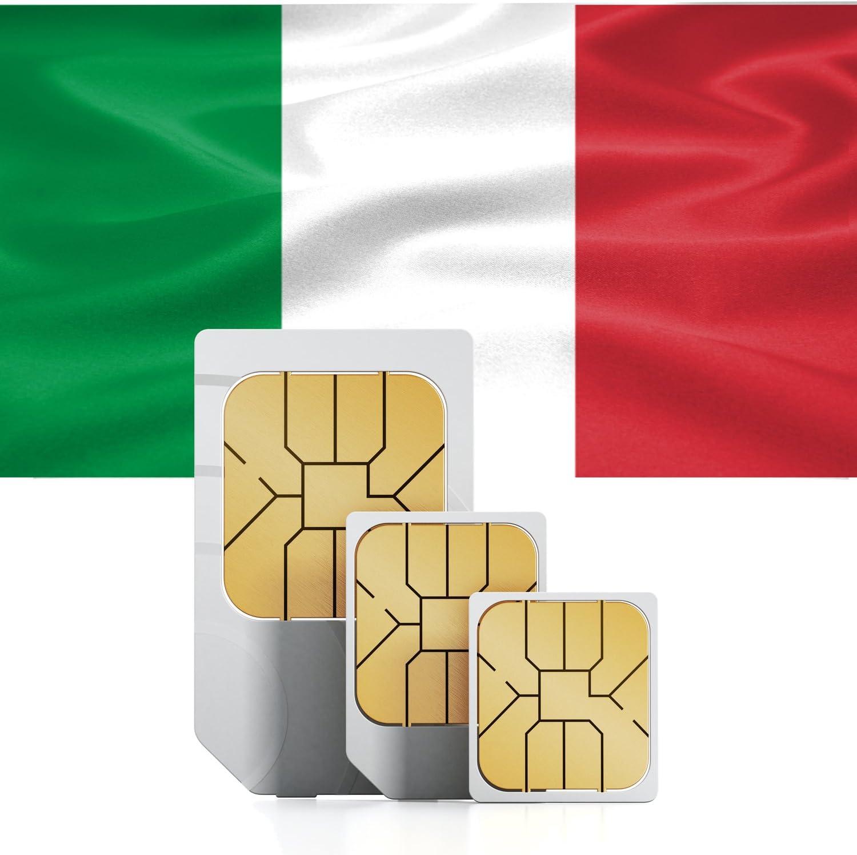 travsim Tarjeta SIM de Prepago con 7 días de validez) para Italia: Amazon.es: Electrónica