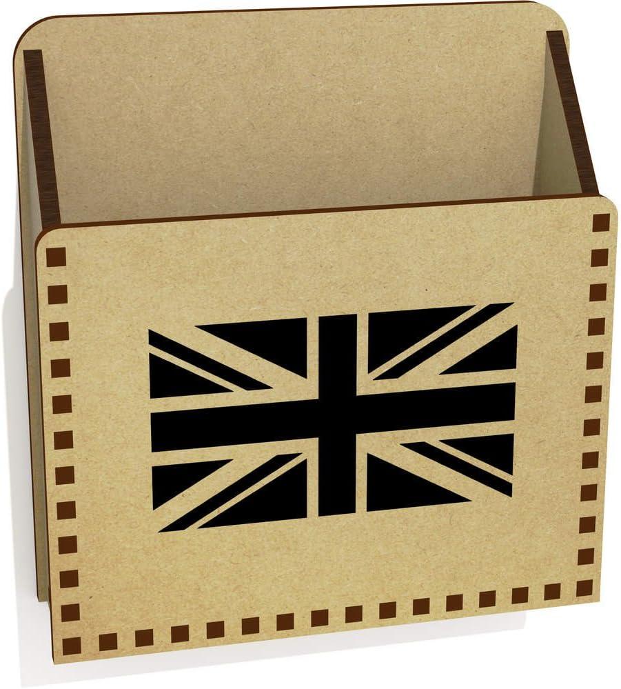Unión Jack bandera caja de madera portacartas/(lh00015483): Amazon.es: Juguetes y juegos
