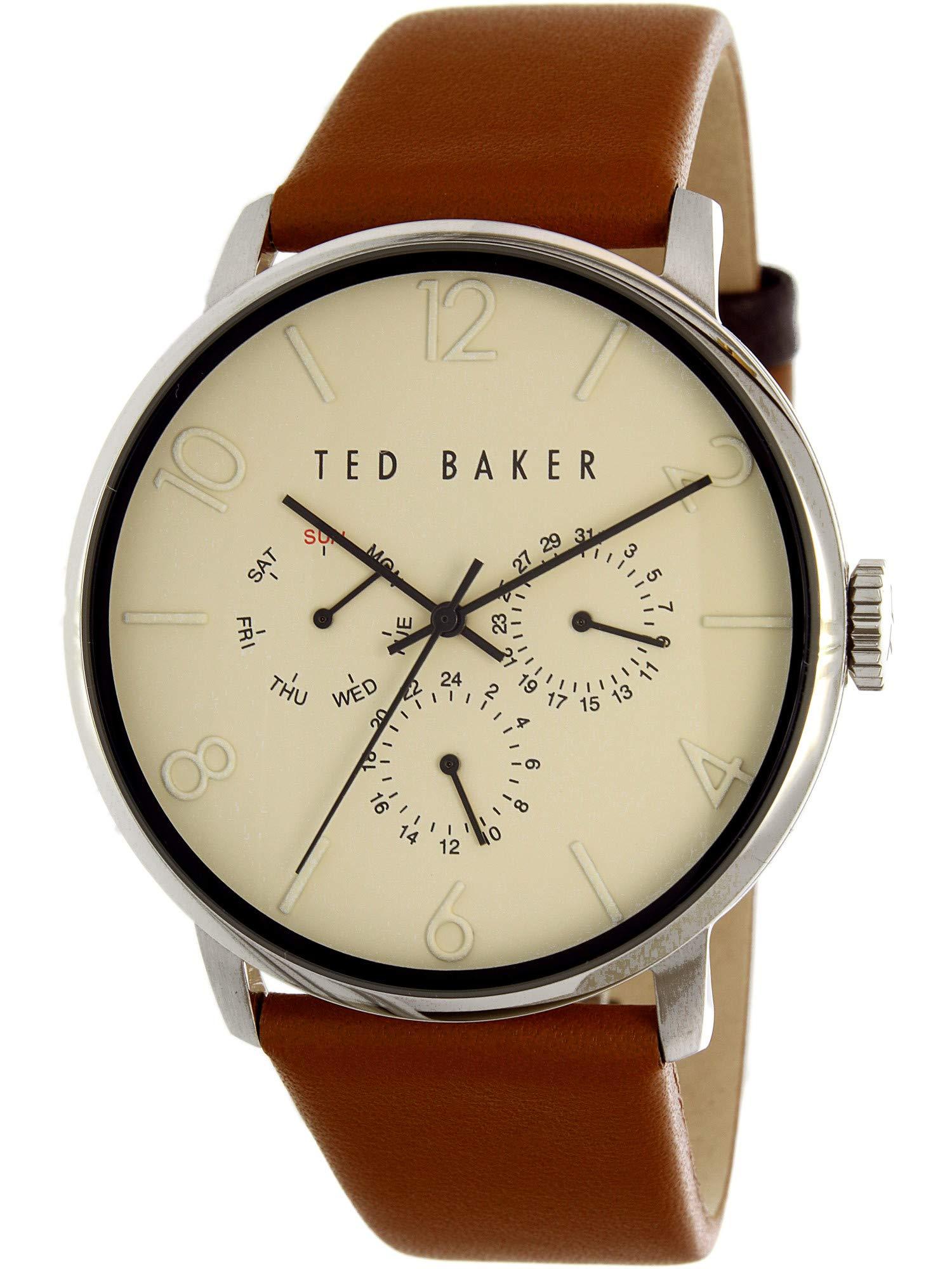 Ted Baker Men's 10029569 Smart Casual Analog Display Japanese Quartz Brown Watch