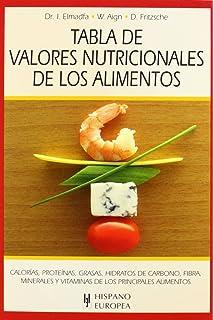 Tabla de composición de alimentos. Quinta Edición Monográfica / Biblioteca de Ciencias de la Salud: Amazon.es: Mataix Verdú, J: Libros