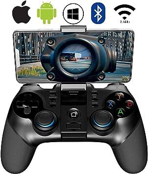 ZUOXI - Controlador de Juegos para móviles (2,4 G, inalámbrico, 4,0, Bluetooth, con Joystick, Mando de Juego Multimedia, Compatible con iOS y Android, teléfono móvil, PC, Android TV Box sin Ruta): Amazon.es: Electrónica