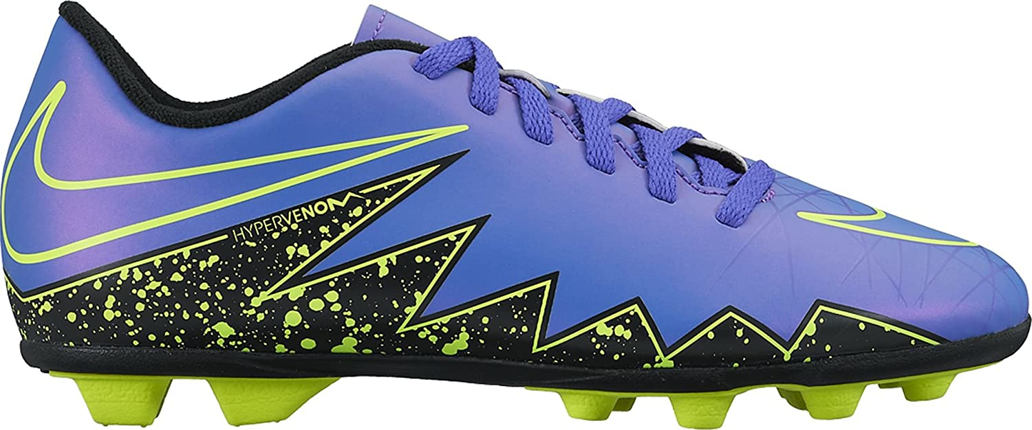 f33a957ce2bb Nike Kids  Jr Hypervenom Phade Ii Fg-r Football Boots  Amazon.co.uk  Shoes    Bags