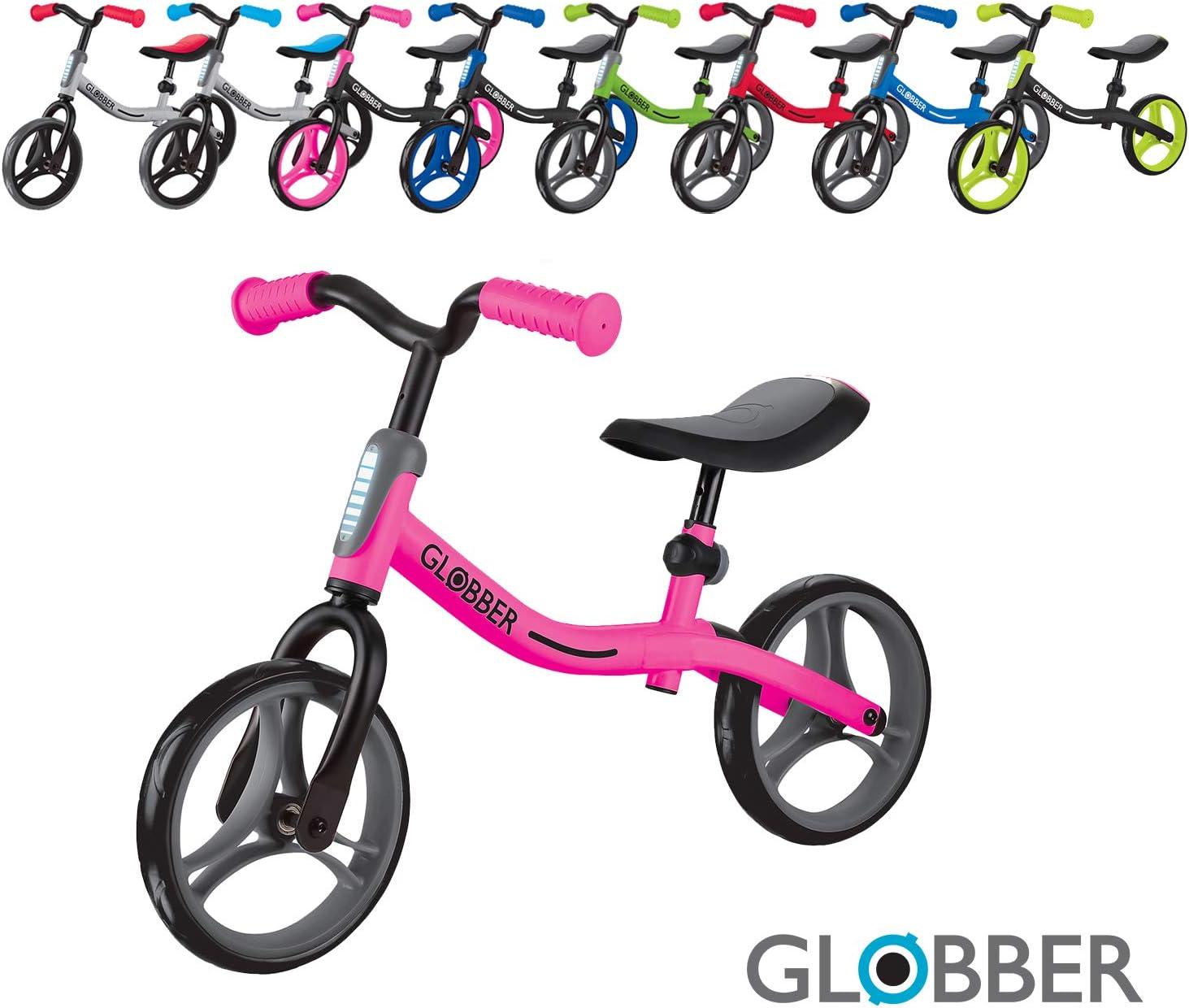 Globber Go Bike Balance Bike (Neon Pink)