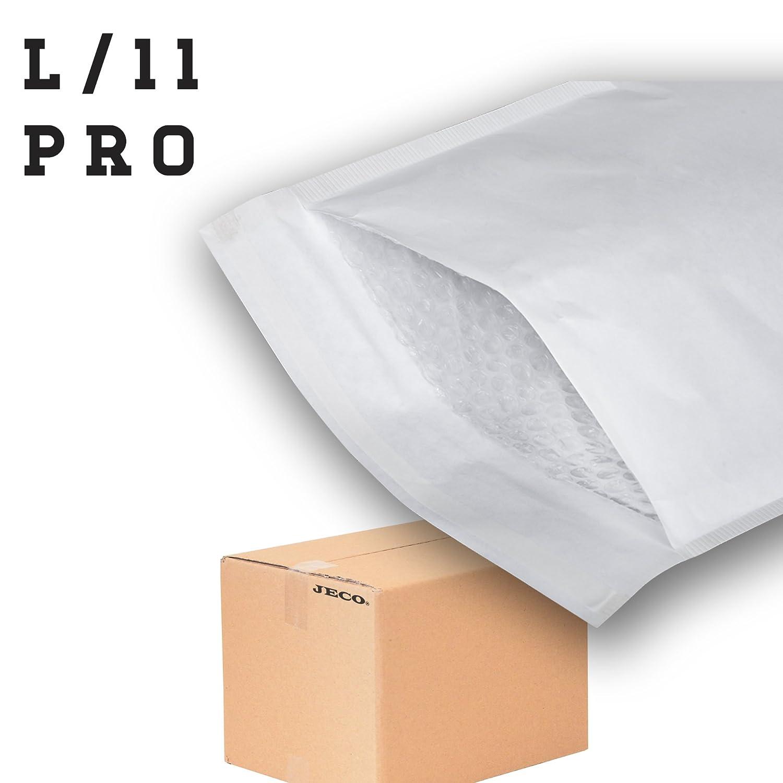 50 Enveloppes /à bulles dair pochettes matelass/ées dexp/édition PRO taille L//11 int JECO 400 x 470 mm