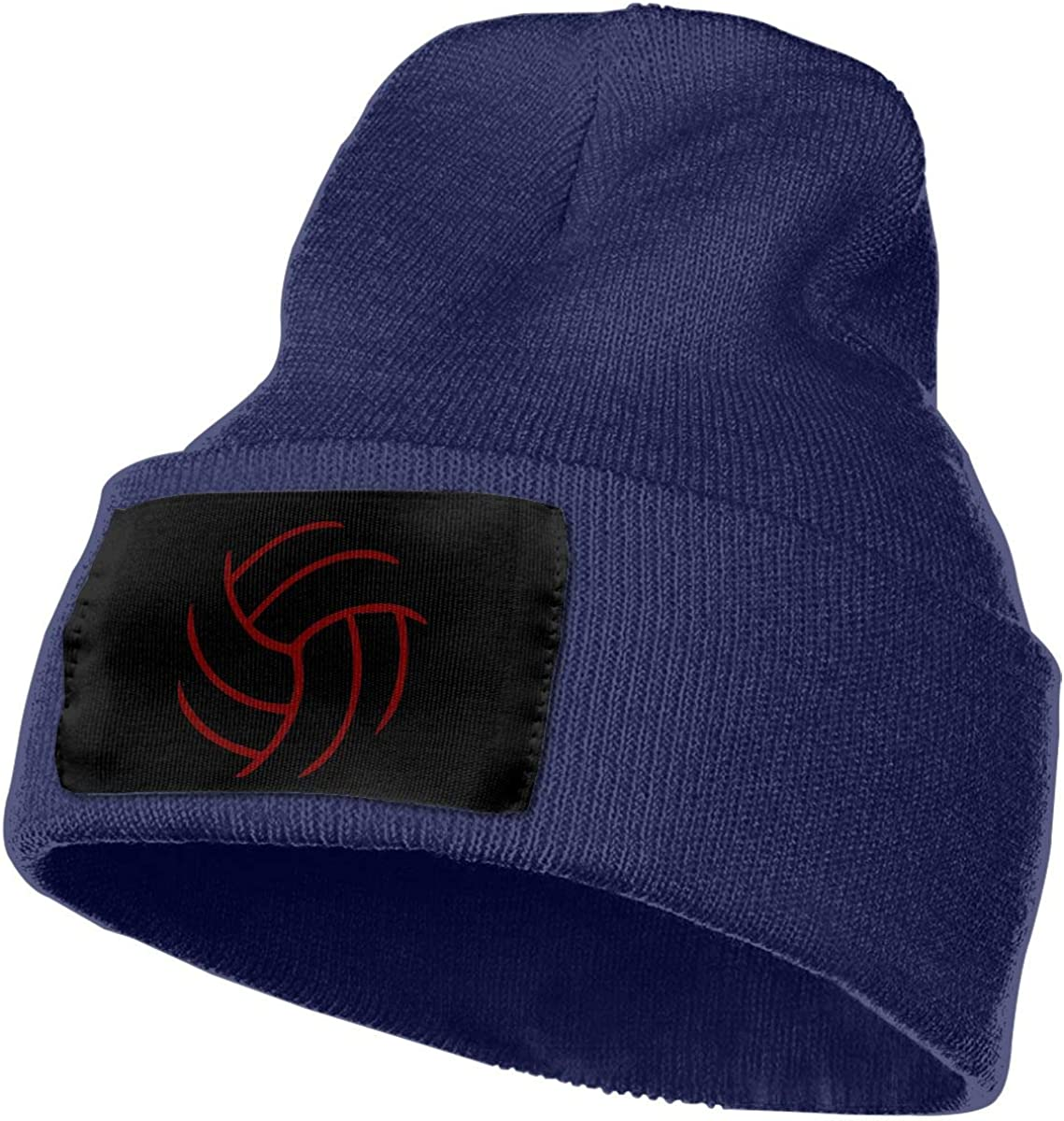 COLLJL-8 Men//Women Volleyball Outdoor Fashion Knit Beanies Hat Soft Winter Skull Caps