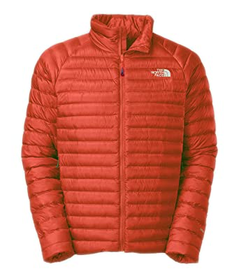 fa7bf2f6f4 Image Unavailable. Image not available for. Color  THE NORTH FACE Men s  Quince Down Jacket (Acrylic Orange