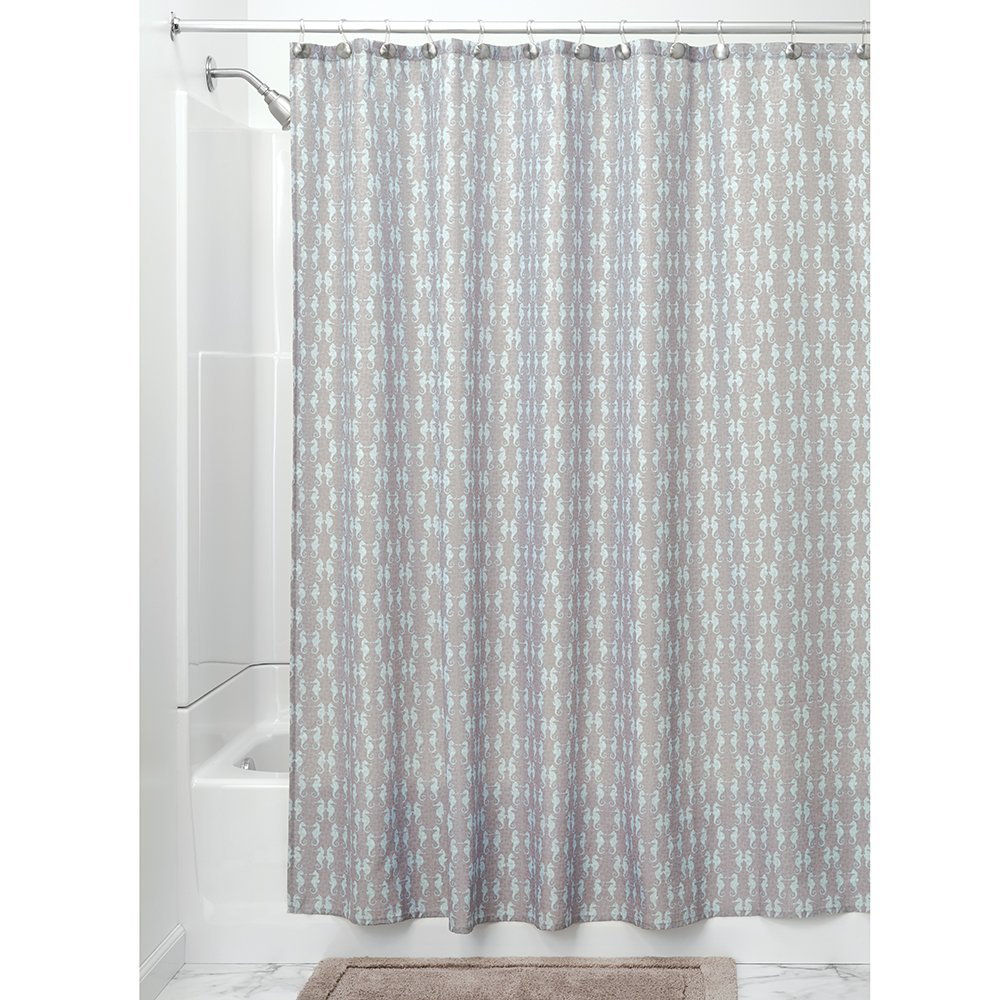 geo taupe curtains lushdecor curtain com lush shower decor products