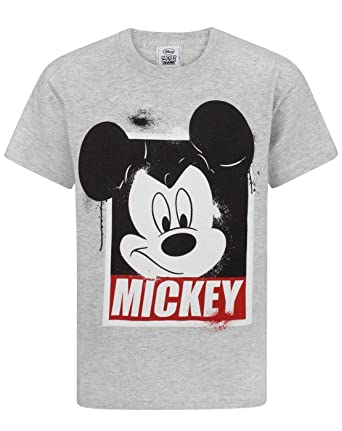 0e63ac6b Mickey Mouse Disney Boy's T-Shirt: Amazon.co.uk: Clothing