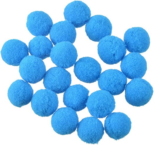 rainbabe pompones bola algodón DIY colgante difusor Perfume azul ...