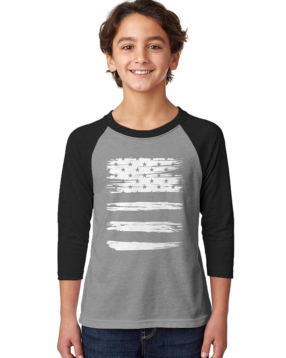 Apparel Usa Torn Flag Trendy 4th Of July 3 4 3059 Shirts