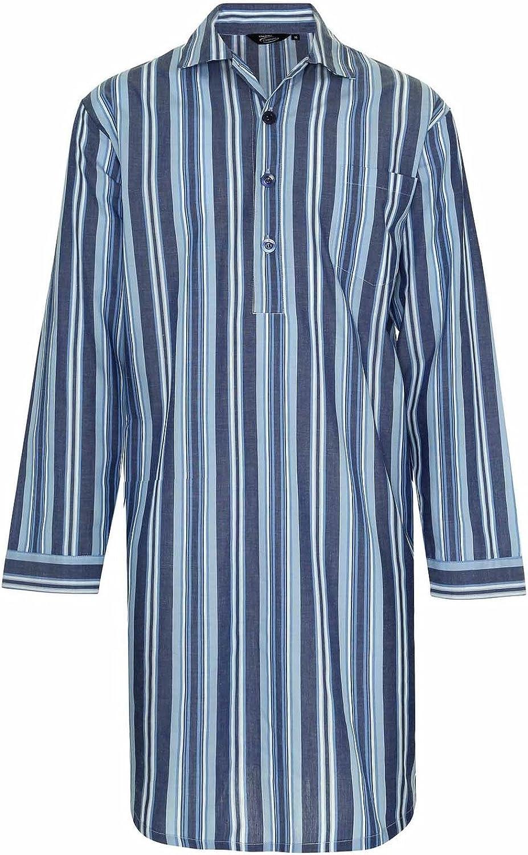 Neuf Pour Hommes Champion Westminster Rayure Chemise De Nuit Pyjama Pyjama V/êtement De D/étente