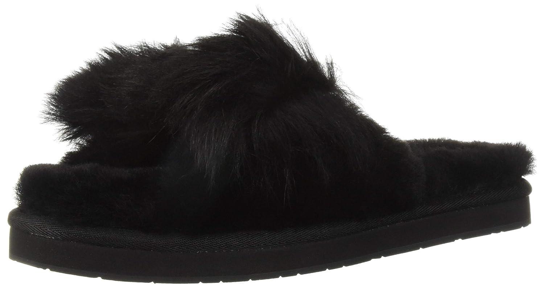 4a30ec72987 UGG Women's W Mirabelle Slipper, Black, 5 M US: Amazon.co.uk: Shoes ...