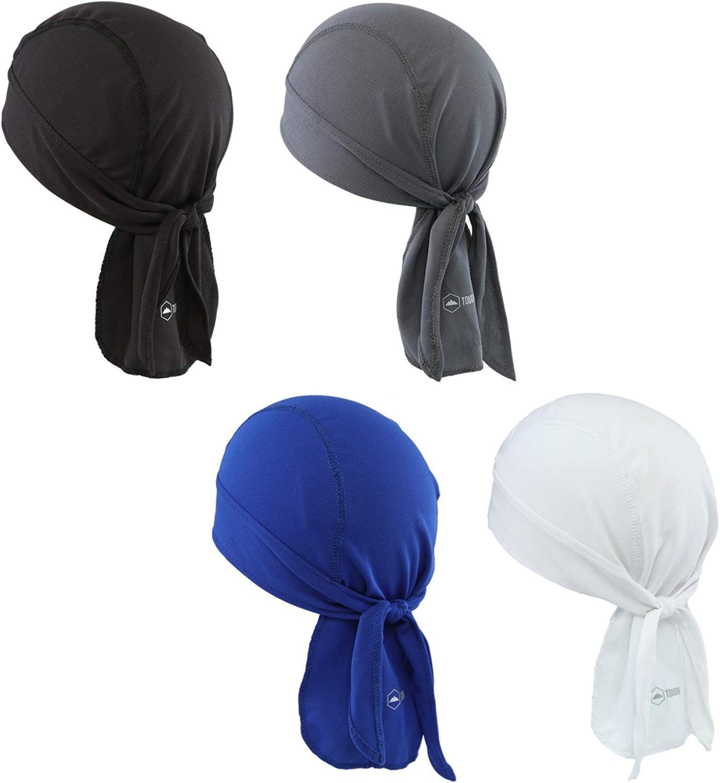 Uptown Girl Headwear Black Cotton Signature Sleeping Cap Head Warmer Durag