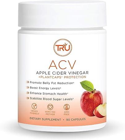 TRU ACV, Apple Cider Vinegar, Organic ACV with