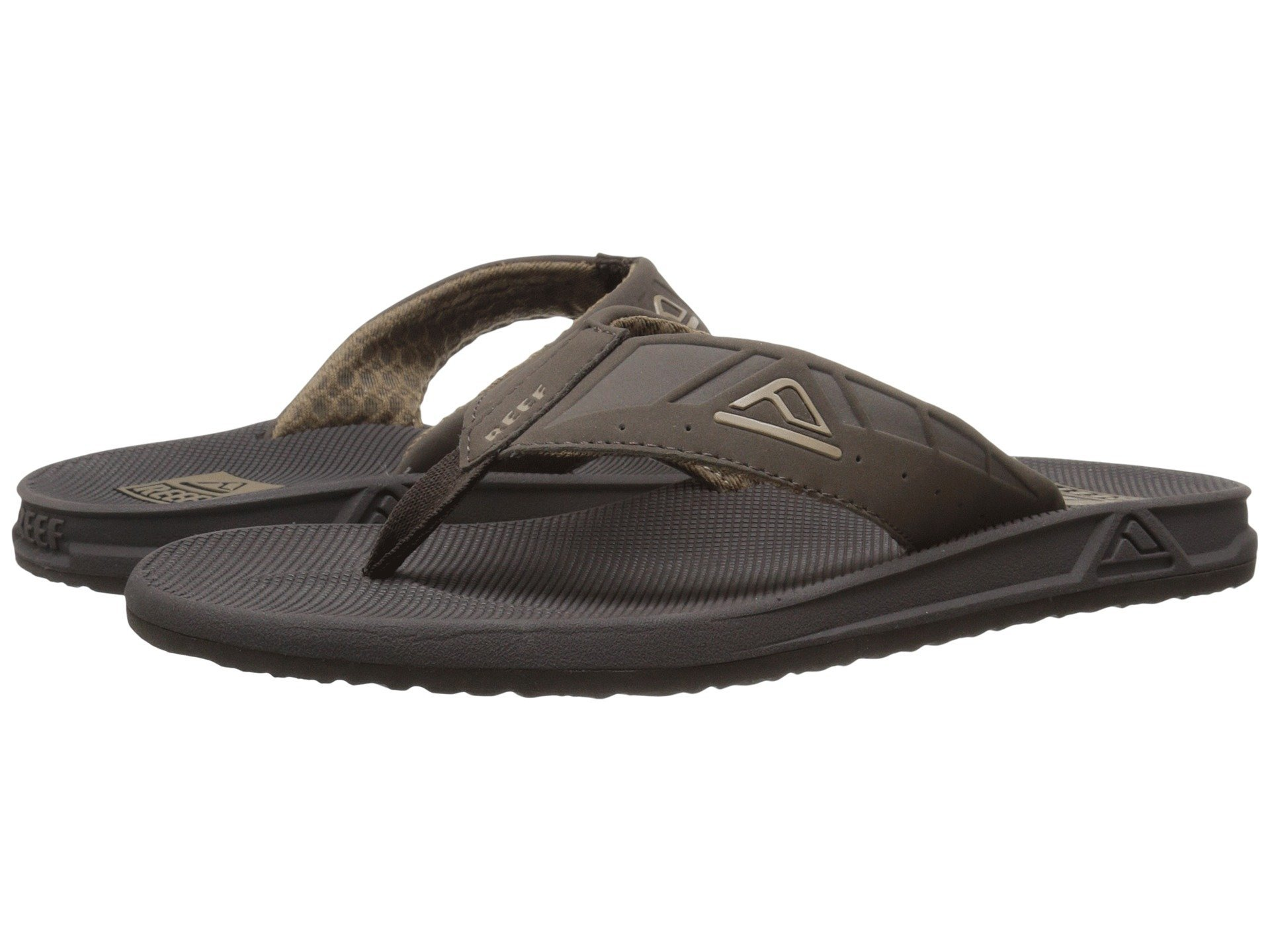 Reef Mens Phantom Sandals Brown/Brown Size 11