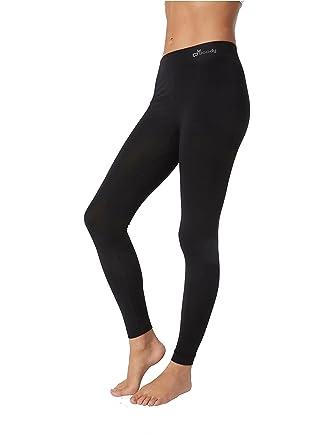 cdb6e7804c Boody Body EcoWear Women's Full Length Leggings Made from Natural Organic  Bamboo Viscose – Soft Breathable