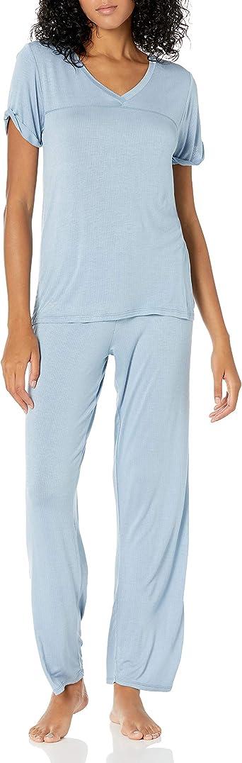 Lucky Brand Women S Super Soft Lightweight Loungewear Pajama Set At Amazon Women S Clothing Store