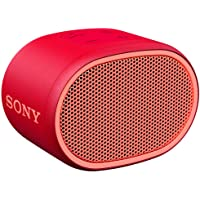 Sony SRS-XB01 Extra Bass Portable Bluetooth Speaker, Red