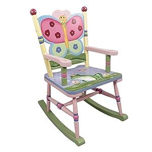 Teamson W-7499A Fantasy Fields - Magic Garden Rocking Chair Rocking Chair,