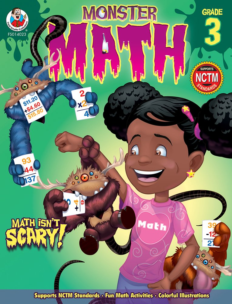 Download Monster Math, Grade 3 ebook