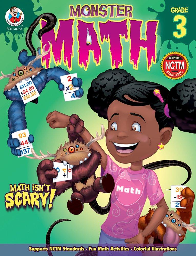 Monster Math, Grade 3 pdf epub