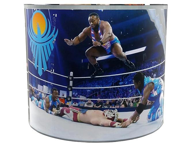 WWE Wrestling Lampshade Or Ceiling Light Shade 10u0026quot; DRUM Shade Boys  Childrenu0027s Kids John Cena