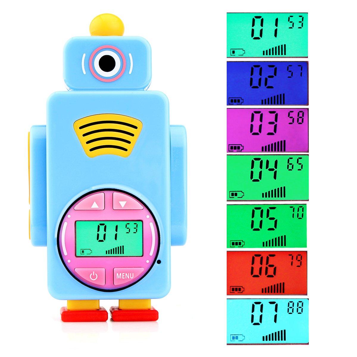 Retevis RT36 Kids Walkie Talkies Rechargeable Battery USB Charging Flashlight Long Range Crystal Sound License Free Walkie Talkies for Kids (Blue,2 Pack) by Retevis (Image #6)