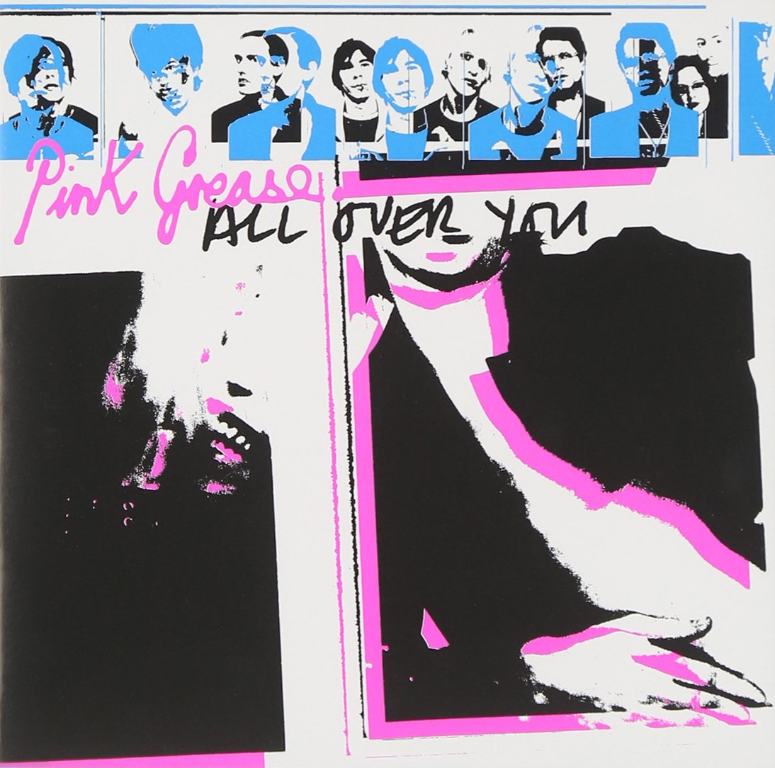 CD : Pink Grease - All Over You (CD)