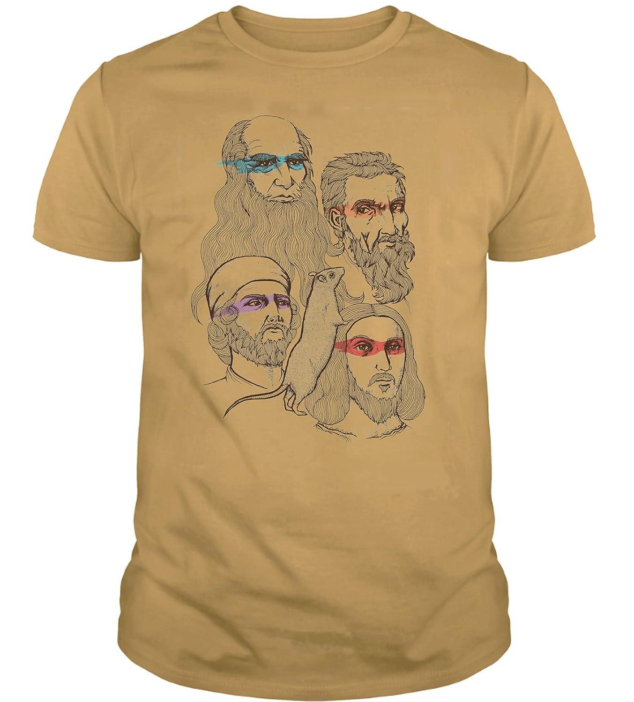The Fan Tee Camiseta de Hombre Tortugas Ninja Retro Dibujos ...