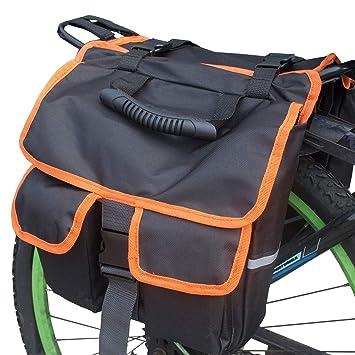 BOLSAS Trasera Bicicleta, Asiento Trasero de 30L para ...