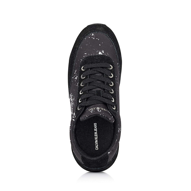 Veloursleder Calvin Re9801 Rutschhemmende Tabata Sohle Aus Damen Klein Sneaker j35ARL4