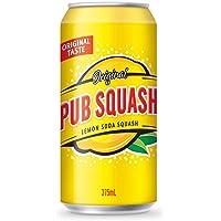 Pub Squash Lemon Soda Squash, 12 x 375 ml