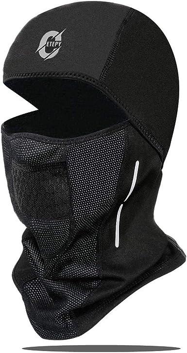 Balaclava Ski Bike Ride Sport Hood Hat Helmet Breathable Half Face Cover