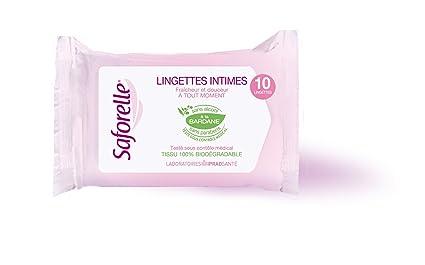 Lingettes Intimes 10 Lingettes Saforelle