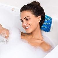 Acroos Komfort Badewannenkissen | Wellness Nackenkissen | Ideales Badewannenkopfkissen groß für optimalen Komfort und Entspannung | Das Wannenkissen | Badewannenkopfkissen | Badekissen