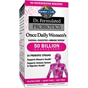 Garden of Life Probiotic Supplement Dr Formulated Once Daily