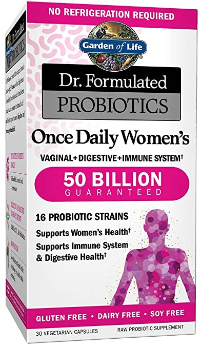 Garden Of Life Dr. Formulated Probiotics Once Daily Women's, 30 Count