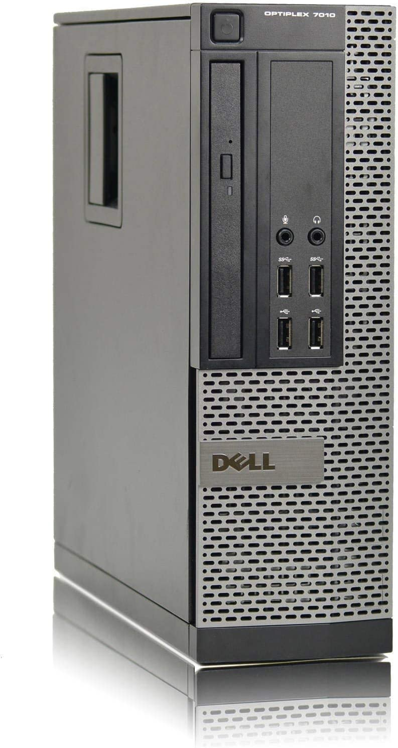 Dell Optiplex 7010 High Performance Flagship Business Desktop Computer, Intel Quad-Core i5 Up to 3.8GHz, 8GB DDR3 RAM, 500GB HDD, DVD, USB 3.0, Windows 10 Pro Renewed