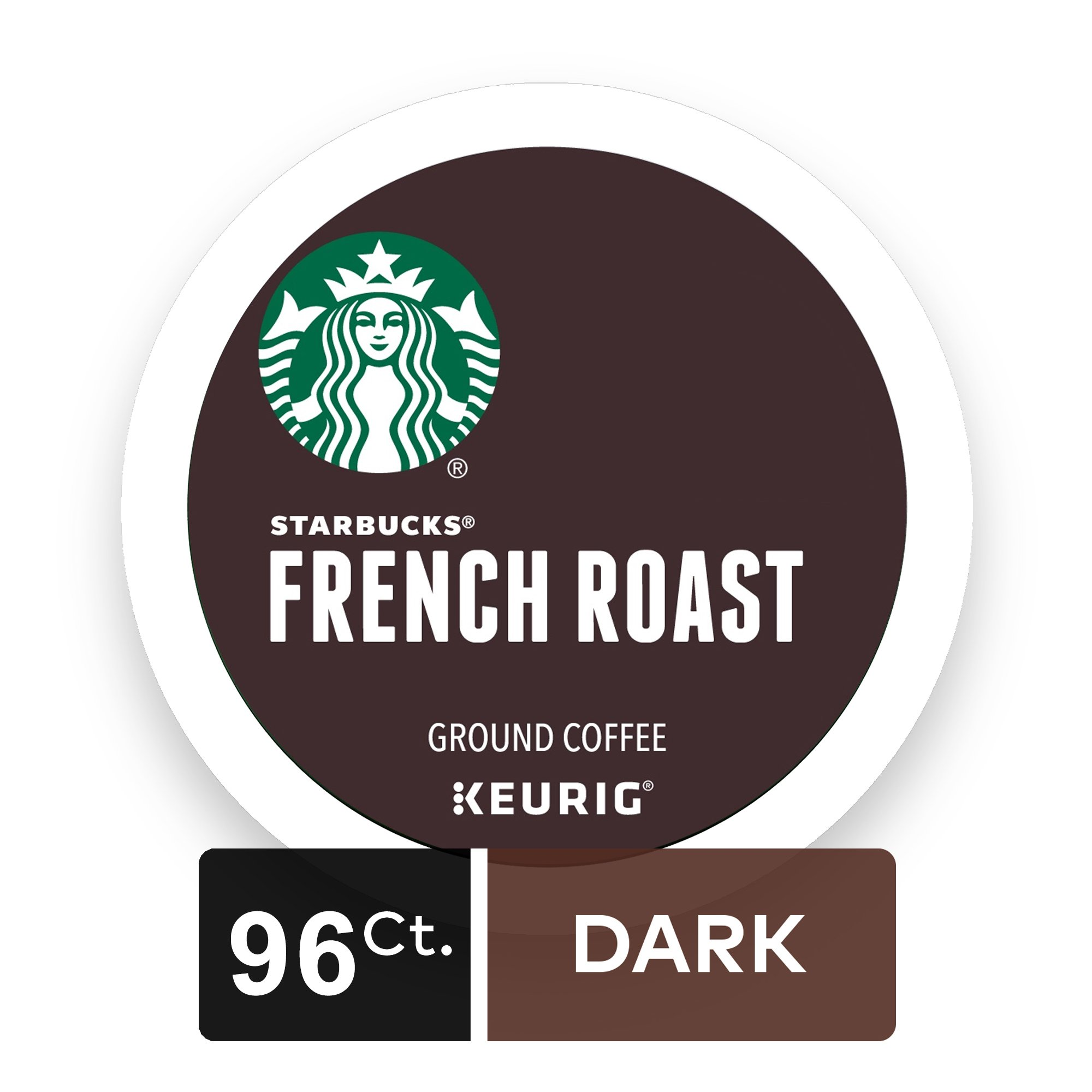 Starbucks french roast k cup for keurig brewers 54 count amazon starbucks french dark roast single cup coffee for keurig brewers 4 boxes of 24 biocorpaavc Image collections