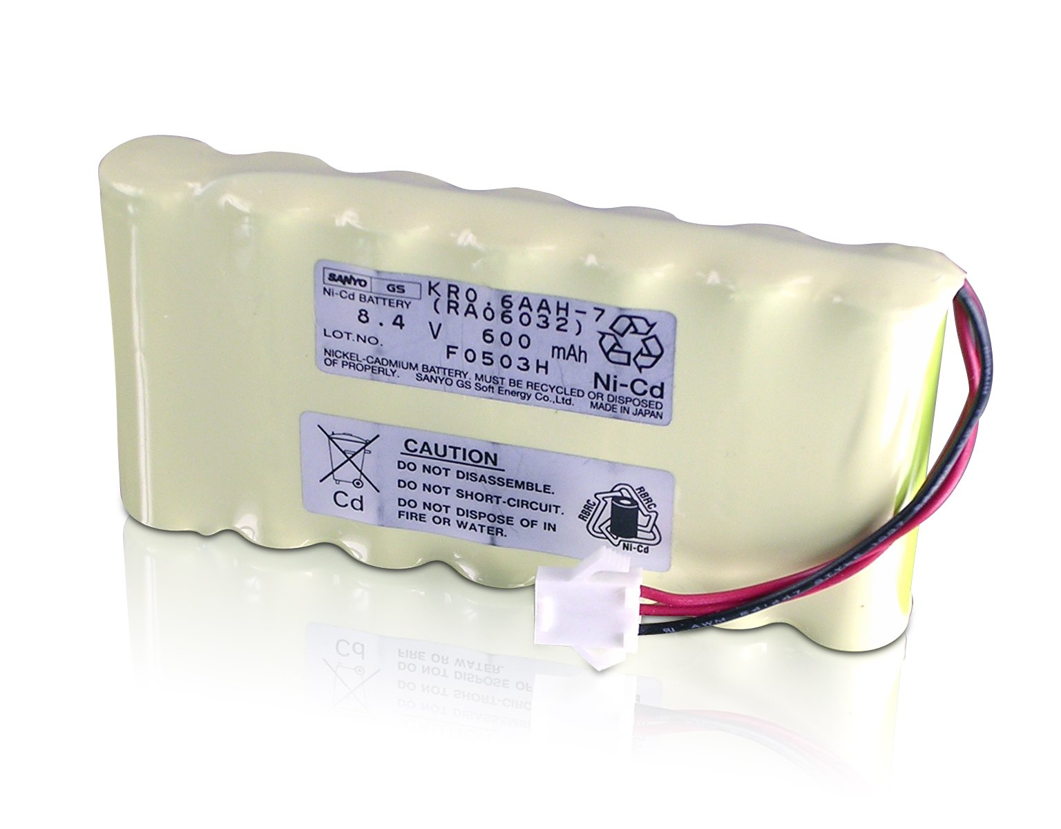 Lathem 7500E Rechargeable Operational Backup Battery, Up to 100 Registrations or 24 Hours (VIS6020)