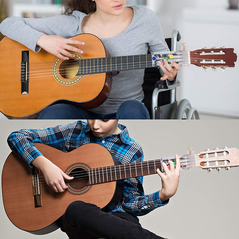 per proteggere le dita regalo per principianti Cisolen Guarnitura per chitarra aiuto per apprendimento della chitarra